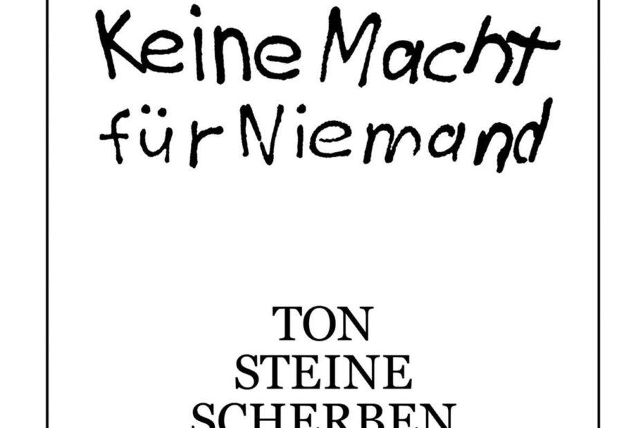 Ton Steine Scherben - Keine Macht Für Niemand (Album-Cover)