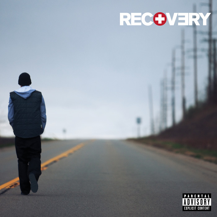 Eminem - Recovery (Album Cover)