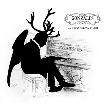 Chilly Gonzales - A Minor Key Christmas Medley (Album Cover)