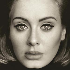 Adele - 25 (Album Cover)