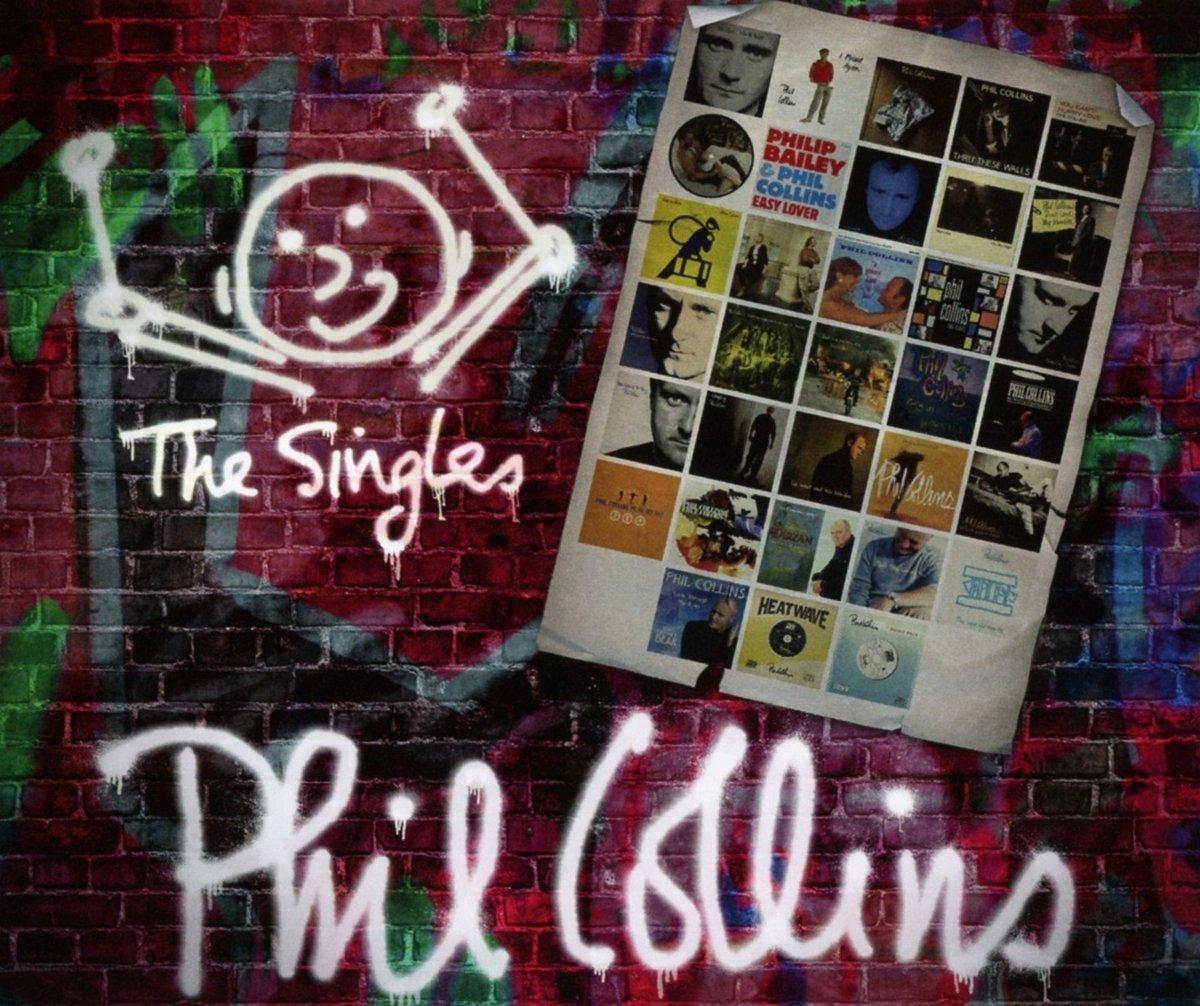 Phil Collins - The Singles (Album Cover)