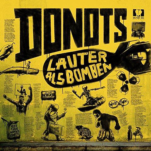 Donots - Lauter als Bomben (Album Cover)