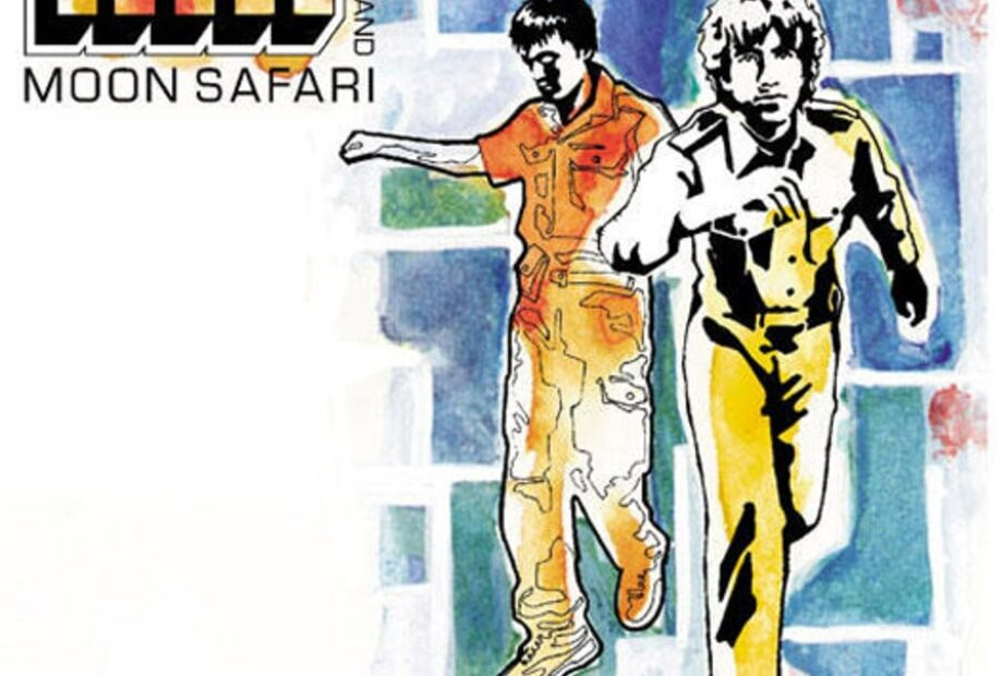 Air - Moon Safari (Album Cover)