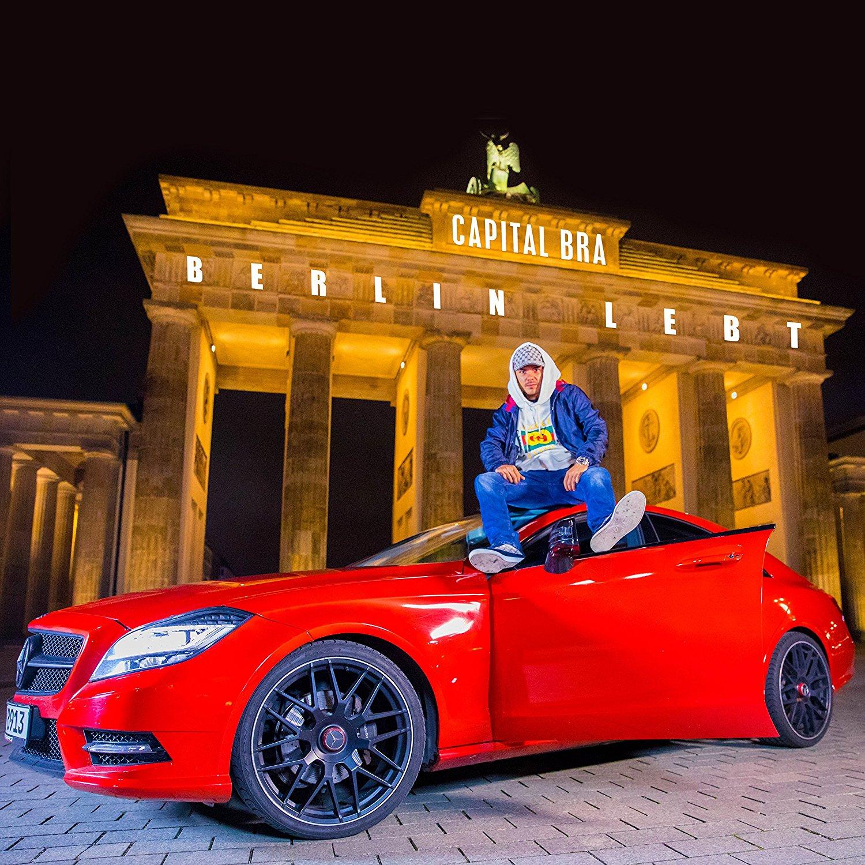 Capital Bra - Berlin Lebt (Album Cover)