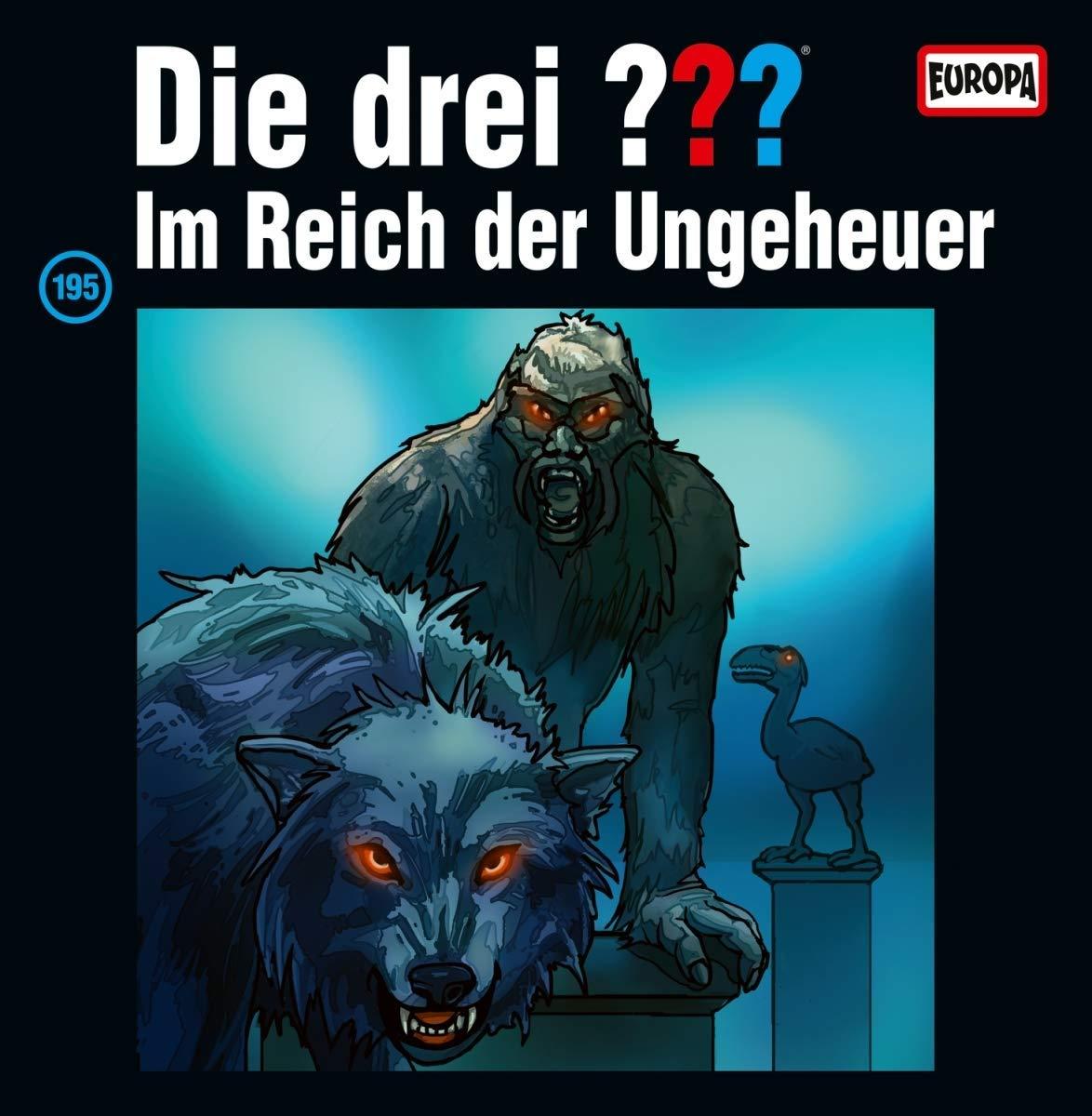 Die drei Fragezeichen - Im Reich der Ungeheuer (Album Cover)