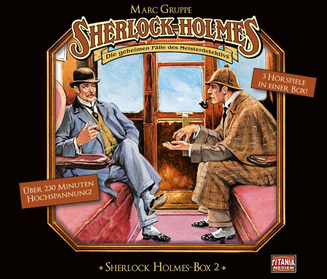 Sherlock Holmes - Die geheimen Fälle des Meisterdetektivs (Album Cover)