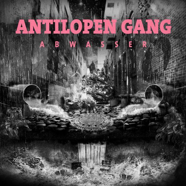 Antilopen Gang - Abwasser (Album Cover)