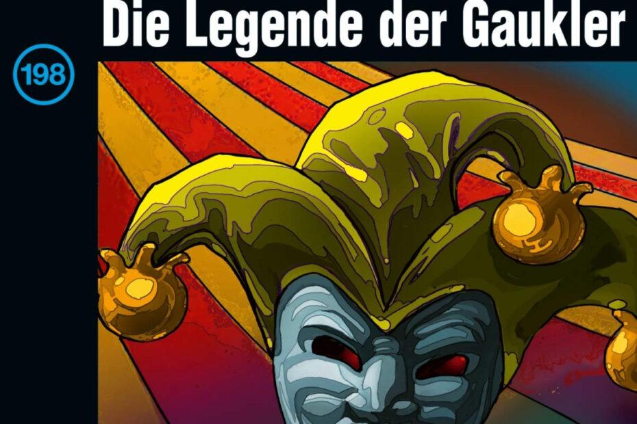 Die drei Fragezeichen - Die Legende der Gaukler (Album Cover)