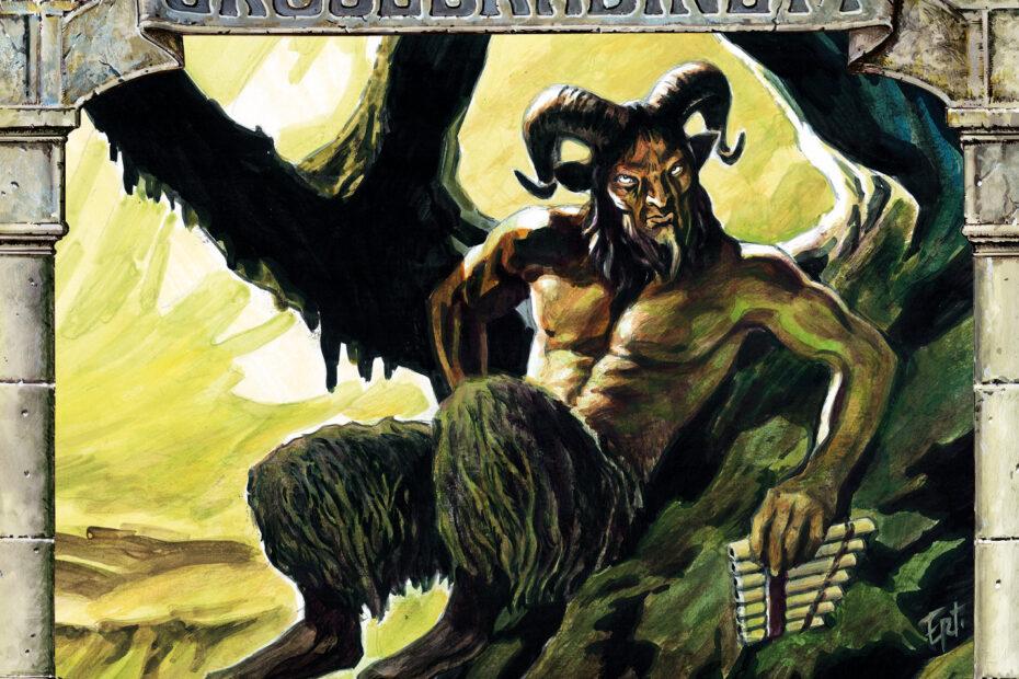 Gruselkabinett Folge 133 - Der gewaltige Gott Pan (Album Cover)