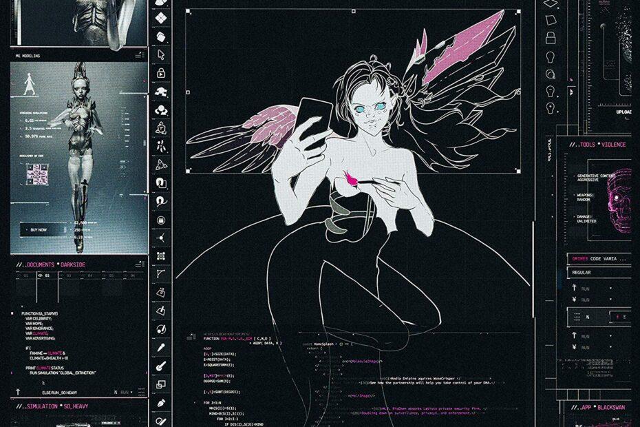 Grimes - Miss Anthropocene (Album Cover)