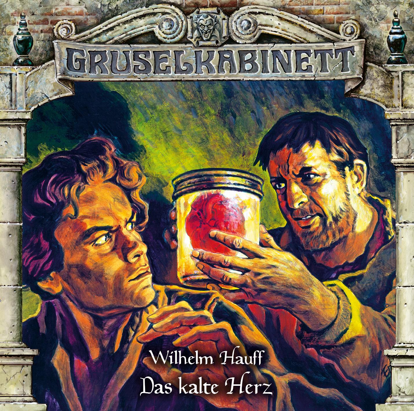 Gruselkabinett - Das kalte Herz (Album Cover)