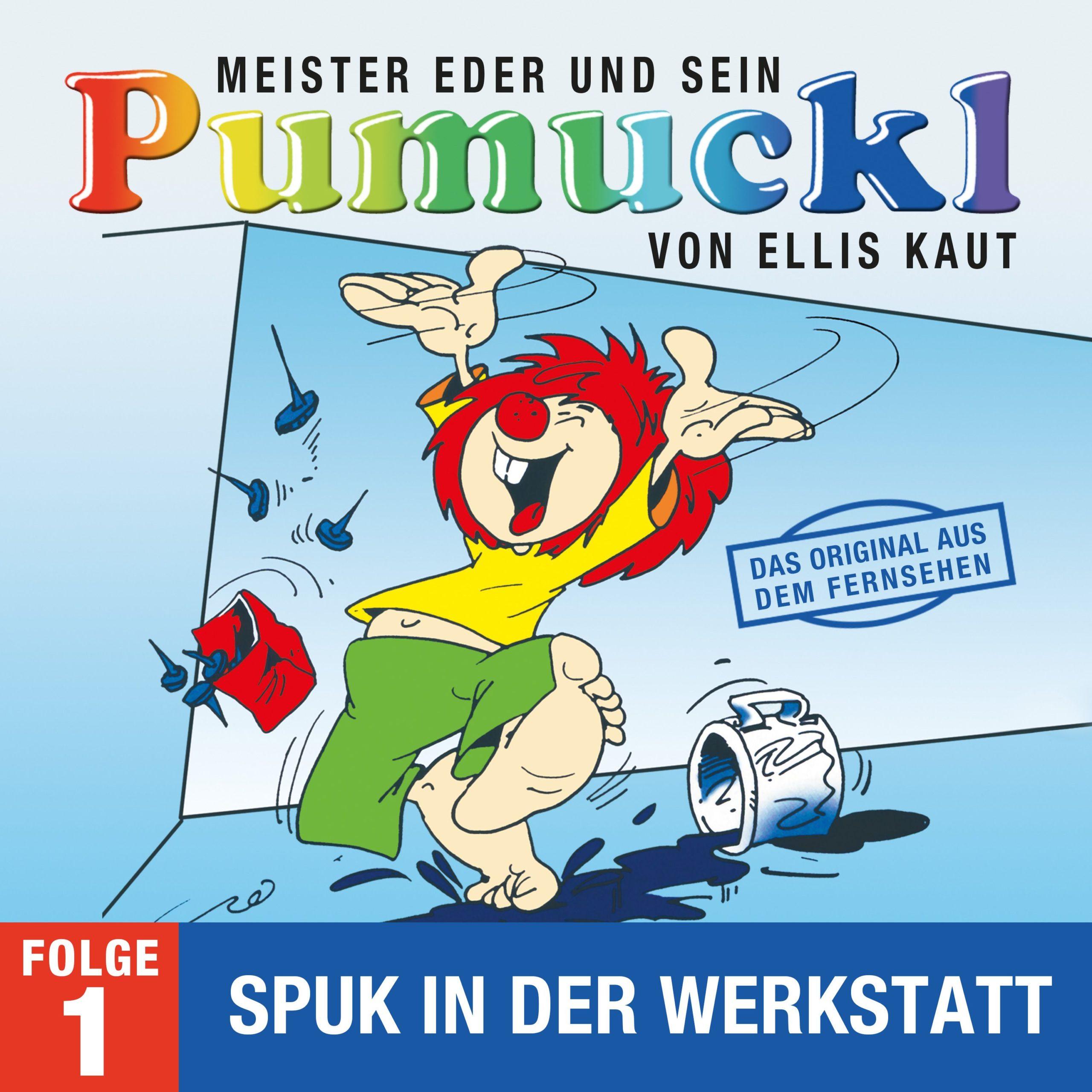 Ellis Kaut - Meister Eder und sein Pumuckl (Album Cover)