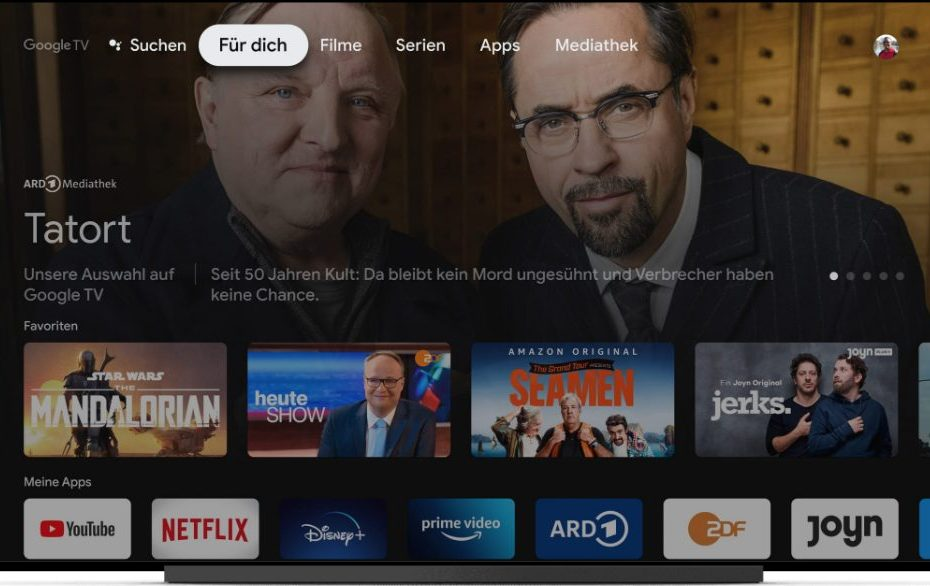 Chromecast mit Google TV (Foto: Google)