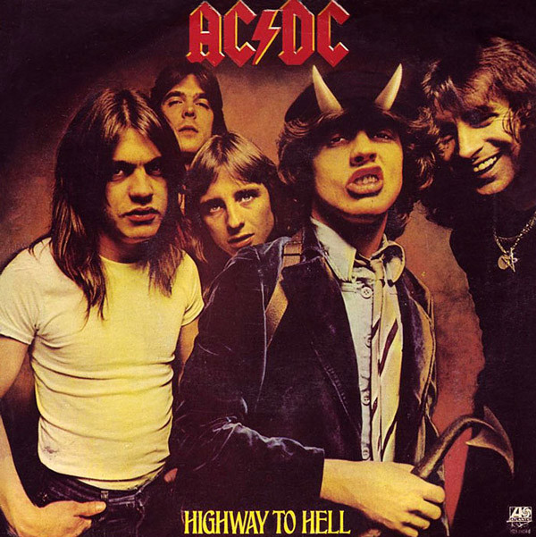 AC/DC – Highway To Hell (Single Cover)