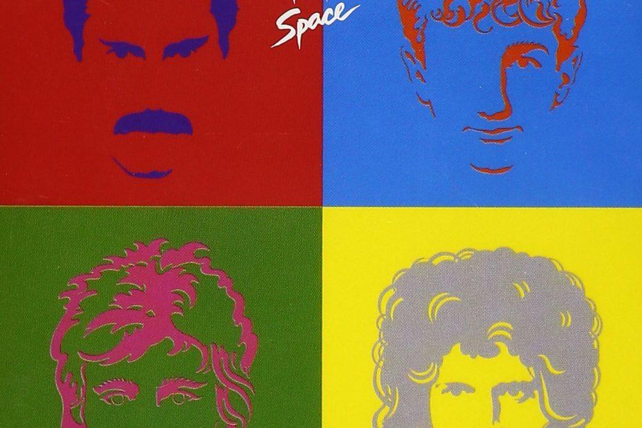 Queen - Hot Space (Album Cover)