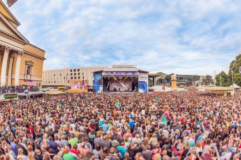 Schlossgrabenfest Darmstadt (Pressefoto)