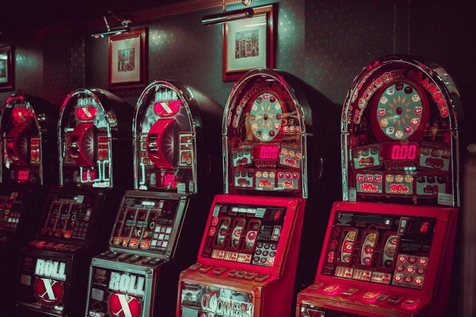 Glücksspiel an der Slotmachine
