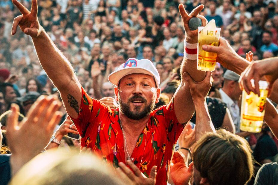 Beatsteaks Waldbühne 2018 (Foto: Andreas Budtke)