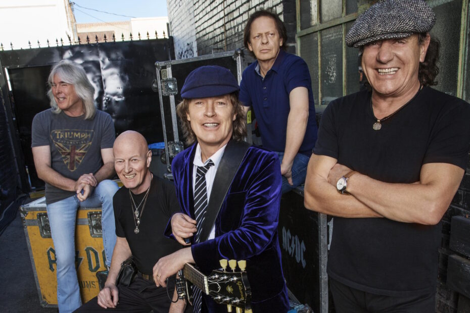 AC/DC Pressefoto