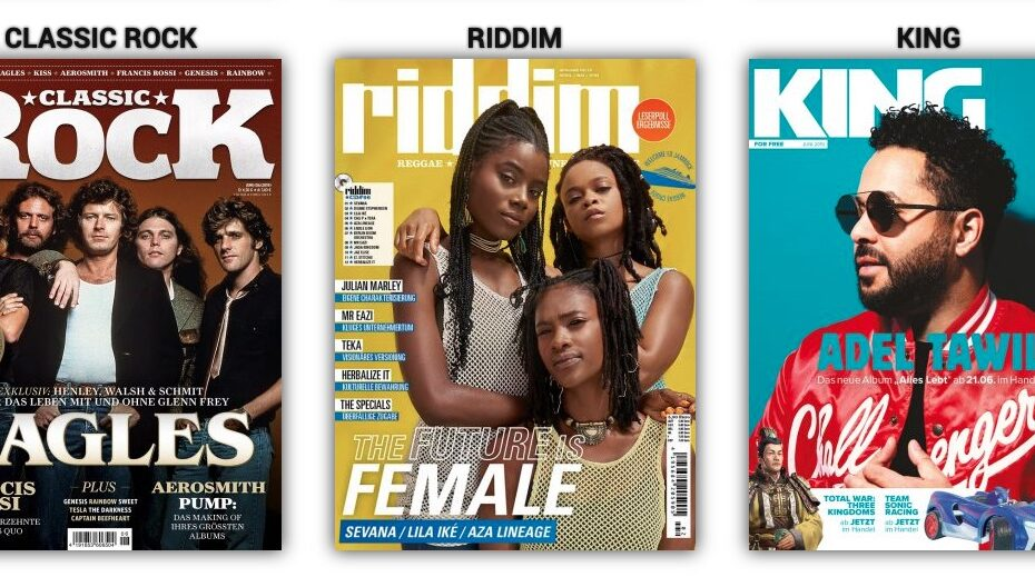 Musikmagazine von Piranha Media