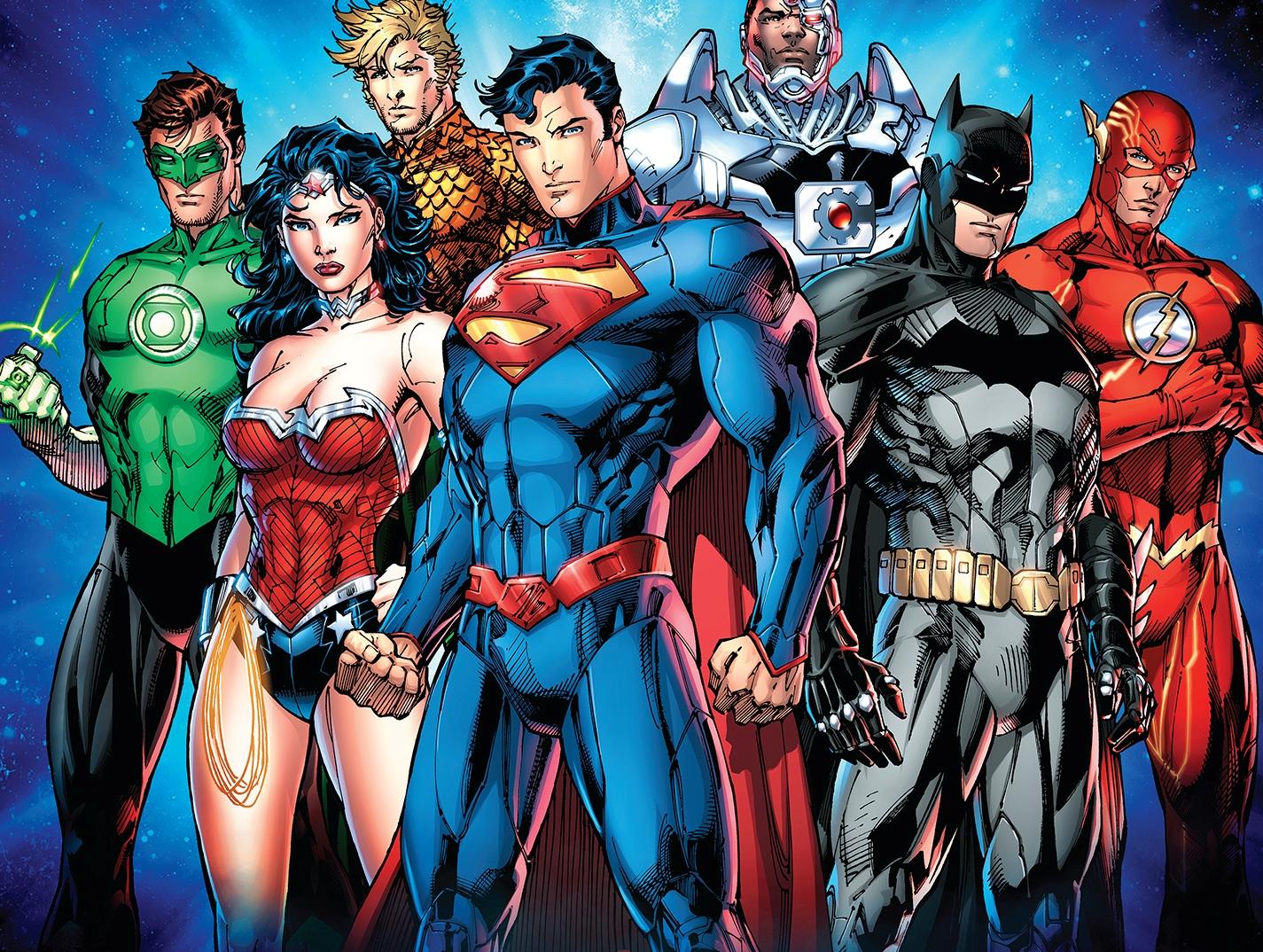 Die vereinten Helden der DC Comics – zukünftig auch in den Spielen von Playtech