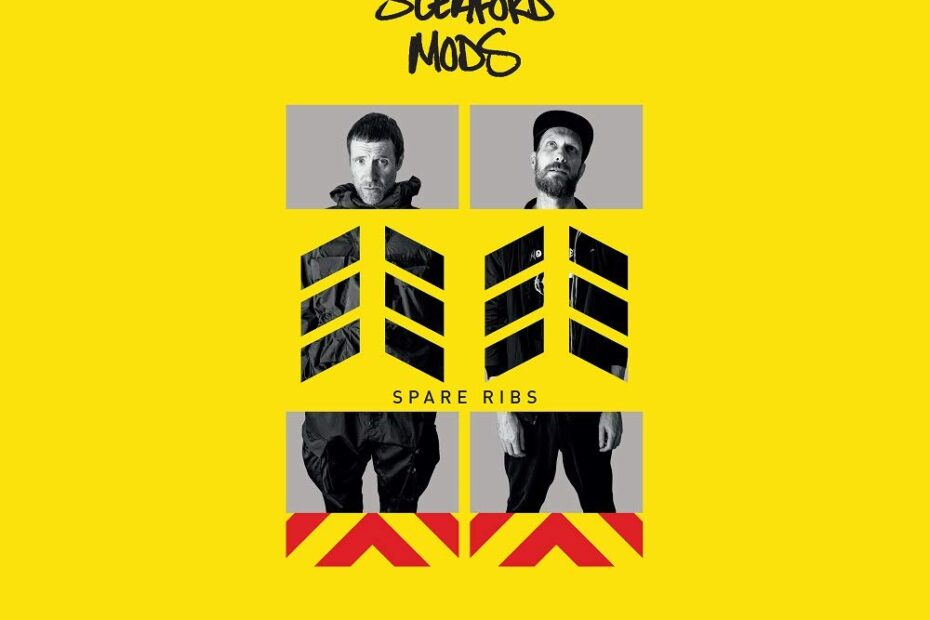 Sleaford Mods - Spare Ribs (Albumcover)