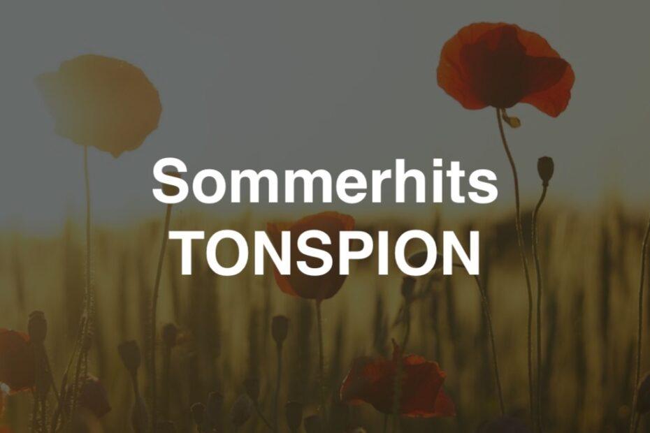 Sommerhits von Tonspion (Playlist)