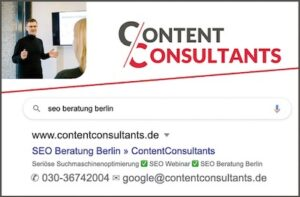 ContentConsultants - SEO Beratung