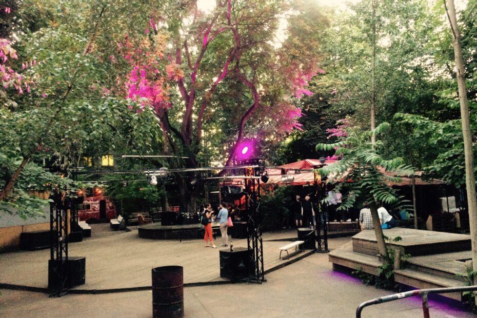 About Blank Garten in Berlin