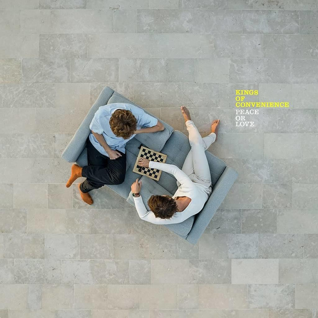 Kings Of Convenience – Peace Or Love (Album-Cover)