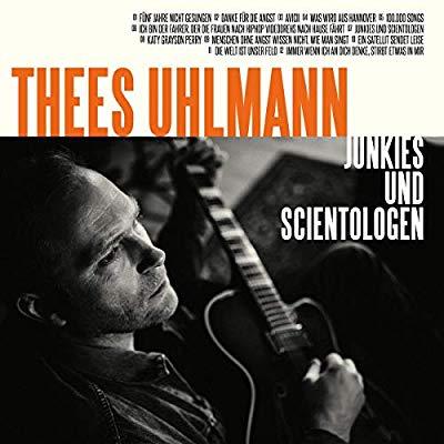 Thees Uhlmann - Junkies und Scientologen (Album Cover)