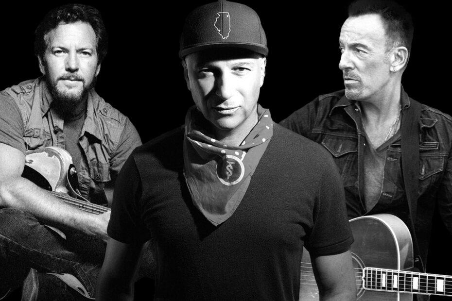 Vedder, Morello, Springsteen (Foto: Facebook)