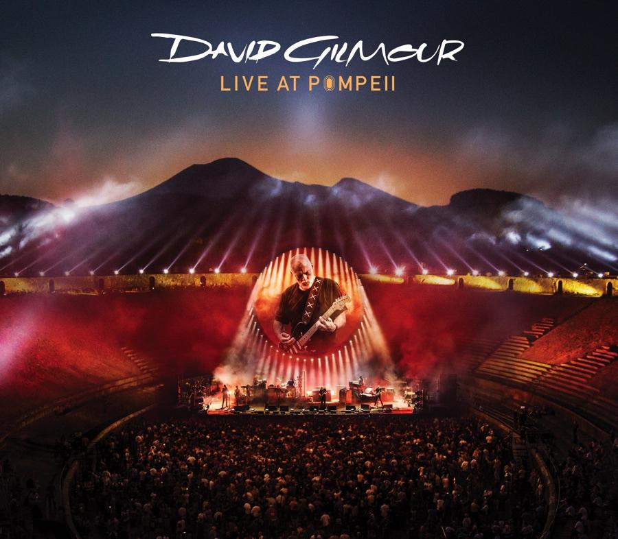 David Gilmour - Live At Pompeii 2016 (Album Cover)