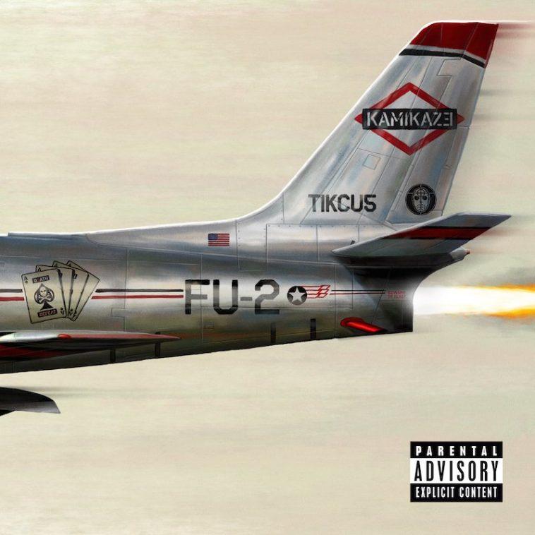 Eminem - Kamikaze (Album Cover)