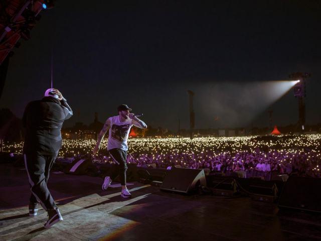 Eminem 2018 in Roskilde (Foto: Jeremy Deputat)