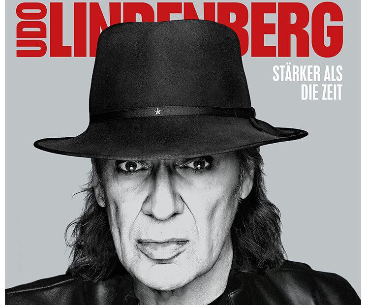 Udo Lindenberg - Stärker als die Zeit (Album Cover)