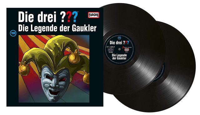 Die Folge Nr. 198 erscheint auch auf Dippel-Vinyl (Quelle: Europa Label)