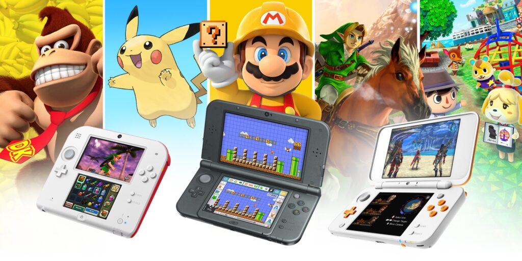 Die Nintendo 3DS Familie (Foto: NIntendo)