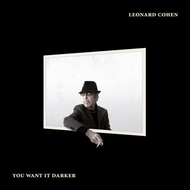 Leonard Cohen - You Want It Darker (Album Cover)