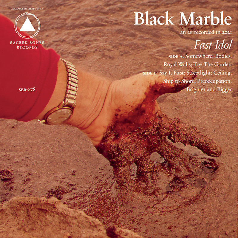 Black Marble - Fast Idol (Albumcover)